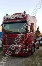 Ciągnik siodłowy produkty niebezpieczne / adr Scania R 580