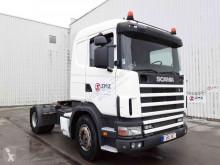 Nyergesvontató Scania 124 420 Retarder/manual használt