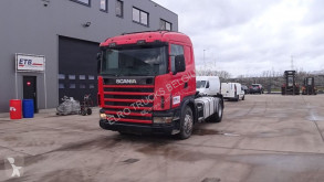 Scania 124 - 400 (MANUAL PUMP & MANUAL GEARBOX / EURO 2) tractor unit used