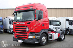 Cabeza tractora Scania R 450 Highline Kipphydaulik etade ACC LDW usada