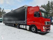 Cabeza tractora Volvo FH13 XL manual EURO 5 2010 mega + SCHMITZ FIRANKA MEGA usada
