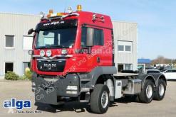 Cabeza tractora MAN 33.540 TGS BBS 6x6, Allrad, Hydraulik, 9to. VA