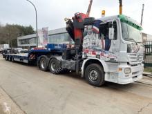 Mercedes semi-trailer used heavy equipment transport