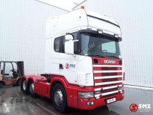 Tahač Scania 144 530 Topline twinsteer manual použitý