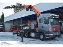Vrachtwagen Scania R 480 tweedehands platte bak