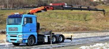 Tracteur MAN TGA 28.480 Sattelzugmaschine+KRAN/FUNK! 6x4!! occasion