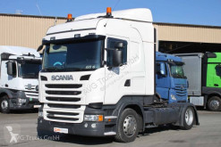 Scania R 450 SCOnly Standklima etade ACC LDW 2xTank tractor unit used low bed