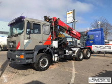 Tahač MAN 27.464 / 33.464 - Full steel - Crane / Kran / Grue - Manual
