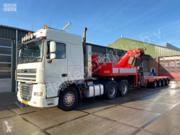 Ensemble routier DAF XF105 porte engins occasion