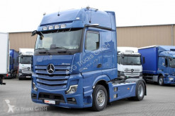 Mercedes LS 1848 ACTROS Giga MirrorCam Standklima Leder tractor unit used