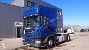 Tracteur Scania 164 - 480 Topline (MANUAL GEARBOX / BOITE MANUELLE / V8) occasion