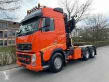 Cabeza tractora Volvo FH FH 500 6X4 EURO 5 + FASSI F455 / Blatt-Blatt usada