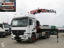 Mercedes exceptional transport tractor unit Actros 2646 LS SZM Kran 36m to