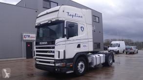 Trattore Scania 124 - 470 Topline (MANUAL GEARBOX / BOITE MANUELE)