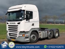 Cabeza tractora Scania G 410 productos peligrosos / ADR usada
