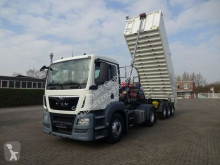MAN TGS TGS 18.440 SZM mit Kippumpe 4x2 tractor-trailer used tipper