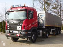 Zestaw drogowy Scania G G440 4x4 EURO5 SZM + Kipper Auflieger Mega wywrotka używany