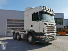 Tracteur Scania R R480 Highline- 6X2- RETARDER- Lenk + Liftachse convoi exceptionnel occasion