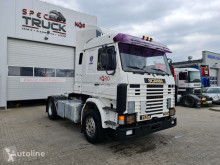 Scania 113 M 360, Steel/Air, Manual Pumpe tractor unit used