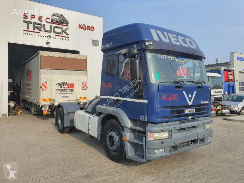 Voir les photos Tracteur Iveco Eurotech 440E42, Steel/Air, Manual