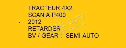 Scania tractor unit P 400