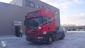 Cabeza tractora Scania 124 - 420 Topline (MANUAL GEARBOX / BOITE MANUELLE) usada