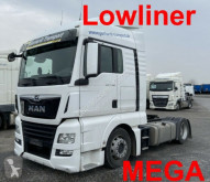 MAN low bed tractor unit TGX TGX 18.460 Lowliner Mega