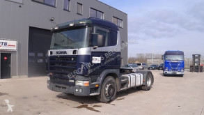 Tracteur Scania 114 - 380 (MANUAL GEARBOX / BOITE MANUELLE / PTO / HYDRAULIC) occasion