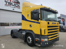 Cabeza tractora Scania 124L 420 ,RETARDER,Steel/Air, Manual usada