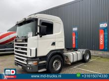 Cabeza tractora Scania 114 380 manual usada