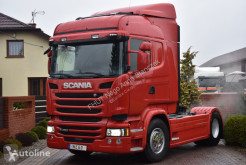 Tracteur Scania R450 STREAMLINE 2016 NO EGR ADR WALKING FLOOR IMPORT occasion