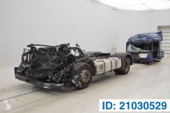 Traktor Mercedes Actros skadet