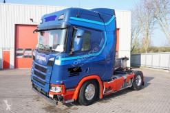 Traktor Scania R 500 skadet