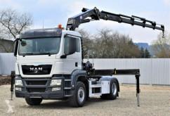 Tracteur MAN TGS 18.360 Sattelzugmaschine+HMF 2030K5+FUNK/4x4 occasion
