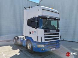 Влекач Scania 144 460 ex portugal