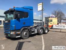 Çekici Scania 124 420 Steel/Air - Manual - Airco - CR19 - Hydraulics