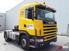 Tracteur Scania 124 420 francais PTO