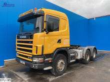 Tracteur Scania 164 480 Manual, Steel suspension, Hydraulic occasion