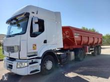 Cabeza tractora Renault Premium 460.19 + benne usada