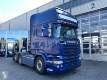 Cap tractor Scania R 580 transport periculos / Adr second-hand