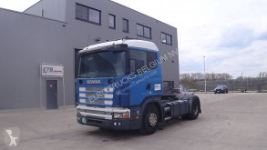 Cabeza tractora Scania 124 - 400 (MANUAL PUMP AND GEARBOX / BOITE MANUELLE ET POMPE MANUELLE / EURO 2) usada