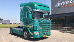 Cabeza tractora Scania 144.530 MANUAL V8 Hobbytruck usada