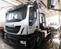 Cabeza tractora Iveco Stralis 460 E6 MEC SPA crane hook-lift truck