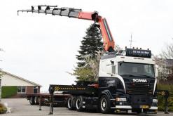 Vrachtwagen Scania G 400 tweedehands platte bak