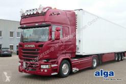 Тягач Scania R 580 LA 4x2/Topline V8/Retarder/Hydraulik б/у