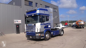 Scania tractor unit 124 - 400 Topline (MANUAL GEARBOX AND PUMP / BOITE ET POMPE MANUELLE)