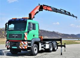 Tracteur MAN TGA 33.430Sattelzugmaschine+FASSI 300AXP.25/FUNK occasion