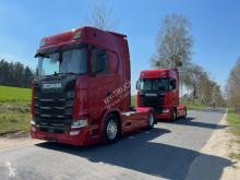 Cabeza tractora Scania S usado