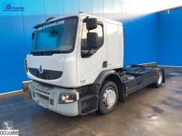 Lastbil med släp biltransport Renault Premium