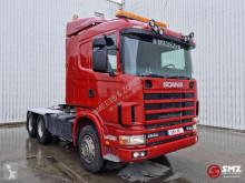 Tracteur Scania 144 530 lames/big axle
